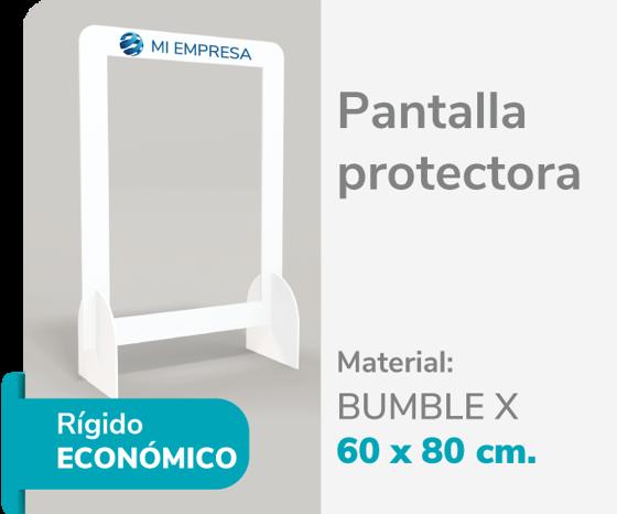 Foto de Pantalla Protectora Bumble 60x80 | Impresión de logo
