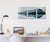 Foto de Set de 3 cuadros | Lago montañas