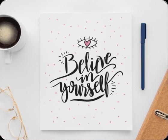 Picture of Libreta | Believe in you - copia
