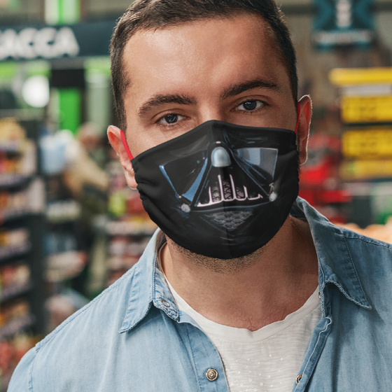 Picture of Cubrebocas Adulto Lavable | Darth Vader