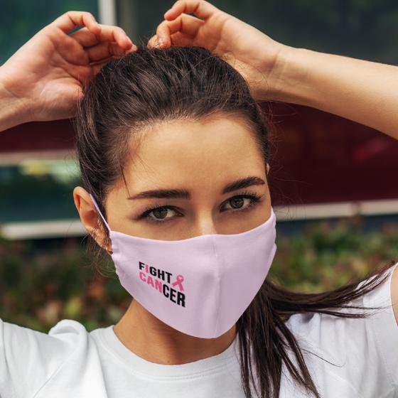 Foto de Cubrebocas Adulto Lavable | Fight cancer