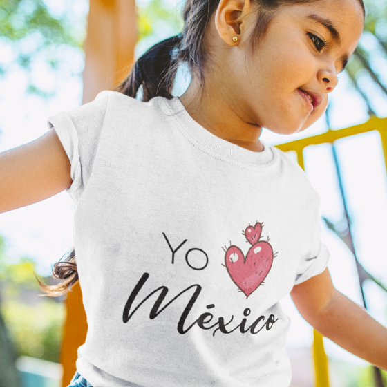 Picture of Playera niña | Yo amo méxico