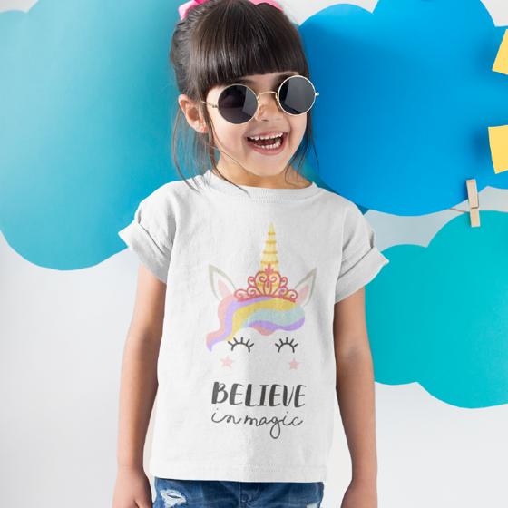 Foto de Playera niña | Believe in magic