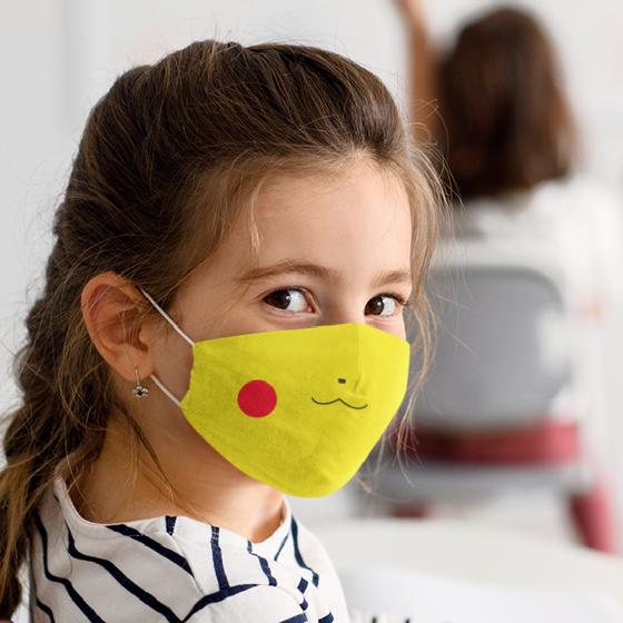 Picture of Cubrebocas Kids Lavable   Pikachu
