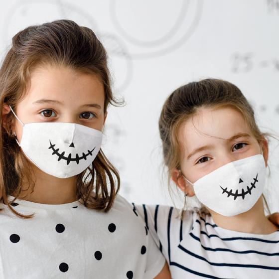 Picture of Cubrebocas Kids Lavable | Skeleton
