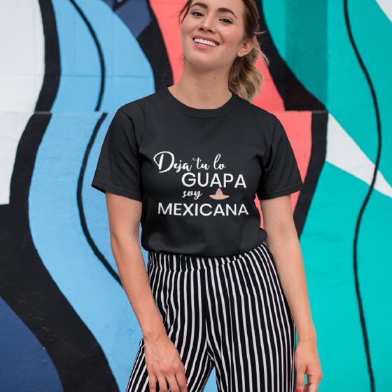 Picture of Playera mujer | Guapa y mexicana