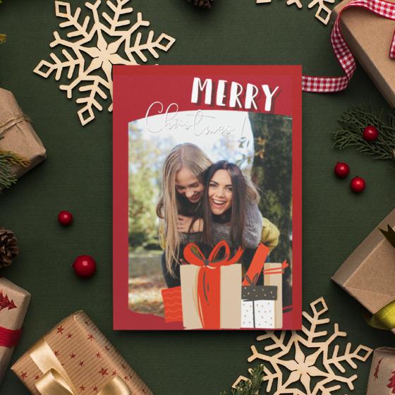Picture of Tarjeta de felicitación | Merry Christmas