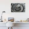 Foto de Cuadro canvas  | Arte espiral BN