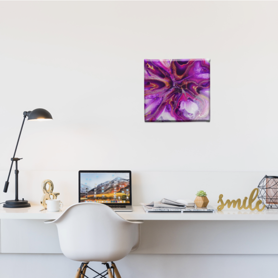 Picture of Cuadro canvas  | Rosa