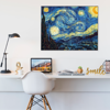 Foto de Cuadro magic frame  | Starry night VanGogh