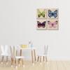 Picture of Set de cuadros acrílico | Mariposas