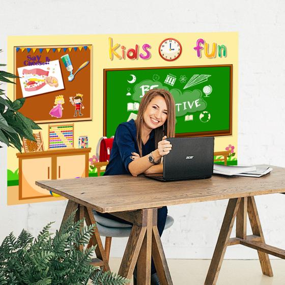 Picture of Fondo para videollamada | Kindergarden