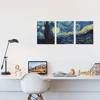 Foto de Set de Cuadros canvas | Starry Night Van Gogh