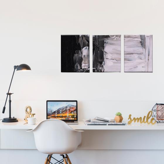 Picture of Set de Cuadros canvas | Arte BN