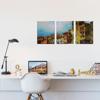 Foto de Set de Cuadros canvas | Arte edificios