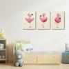 Picture of Set de cuadros acrílico | Flamingos