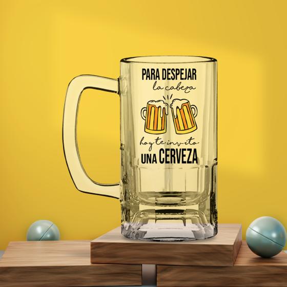 Picture of Tarro de Cerveza | Despejar la cabeza