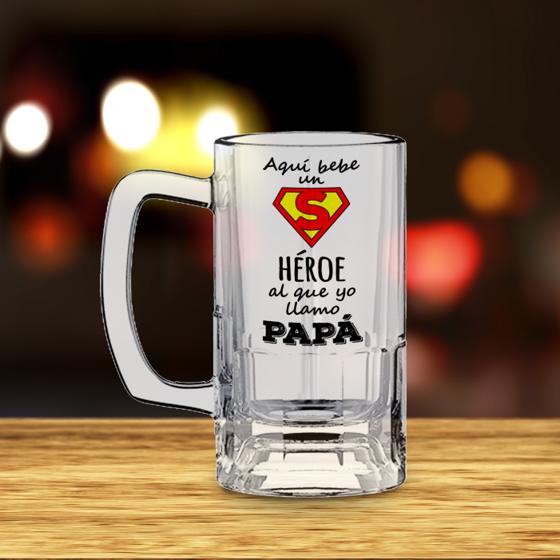 Foto de Tarro de Cerveza | Papá héroe