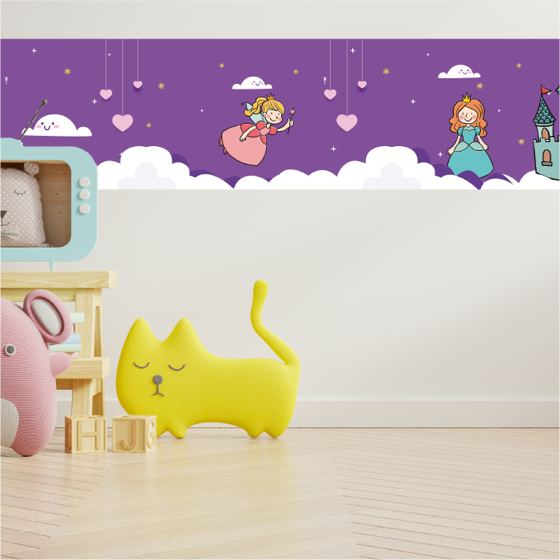 Foto de Cenefa Decorativa Kids | Fairytale