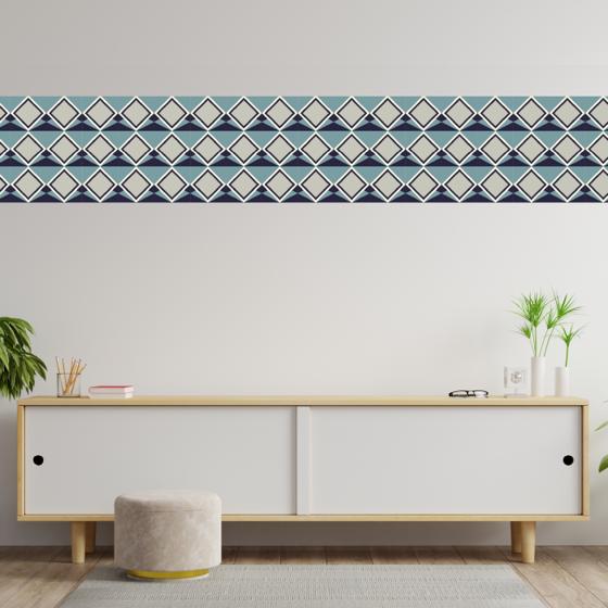 Picture of Cenefa Decorativa | Rombos