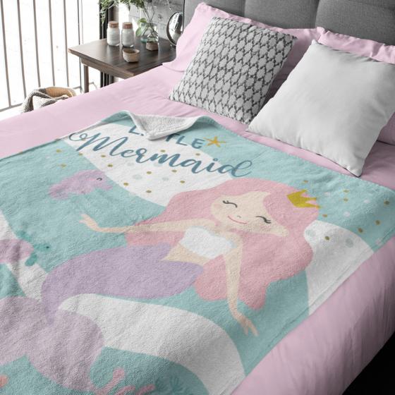 Picture of Cobija personalizada | Little Mermaid