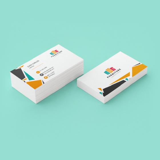 Picture of Tarjetas de presentación | Personalizable Diseño creativo geométrico