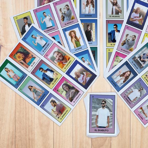Foto de Lotería personalizada | Diseña en línea