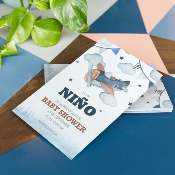 Picture of Invitación personalizada | Avioneta