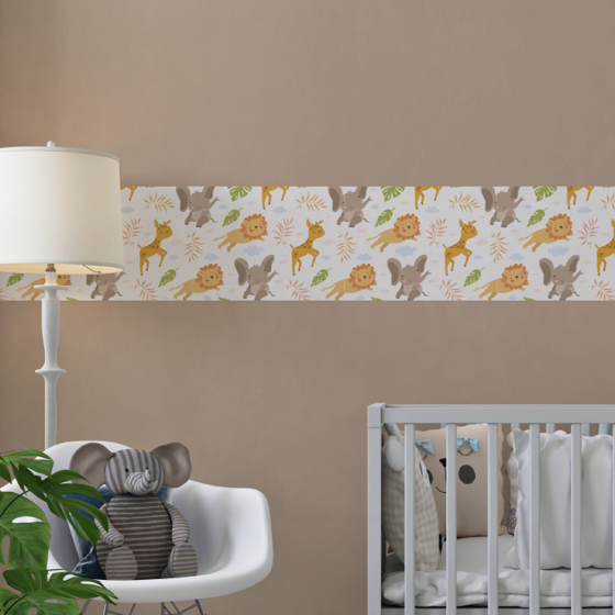 Picture of Cenefa Decorativa Kids | Baby Jungle