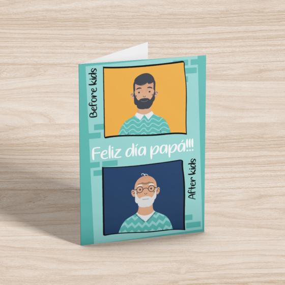 Picture of Tarjeta de felicitación | Feliz Día Papá