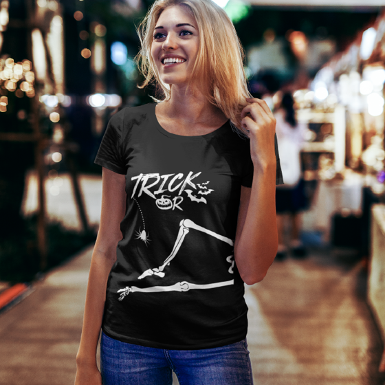 Foto de Playera mujer | Trick or treat 2