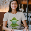 Picture of Playera mujer   Yoda stay home