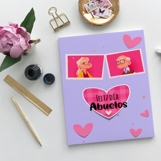 Picture of Tarjeta de felicitación | Feliz día Abuelos